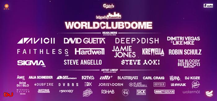 World Club Dome LineUp 2015