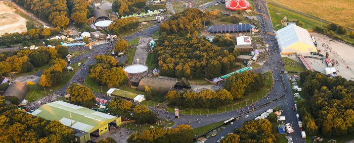 Q-BASE Aerial View