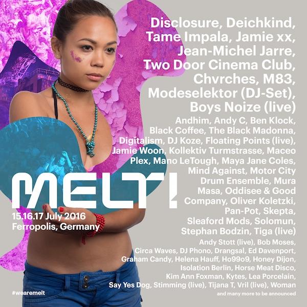Melt! 2016 – Line-up