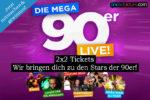 GEWINNSPIEL: Die MEGA 90er LIVE in Köln