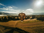Zephyr, the Tomorrowland Hot Air Balloon, will be aloft all summer long in Ibiza