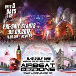 AIRBEAT-ONE Festival 2018 Vorverkaufsstart