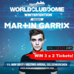 3 x 2 Tickets für eine der größten MARTIN GARRIX Solo Shows der Welt
