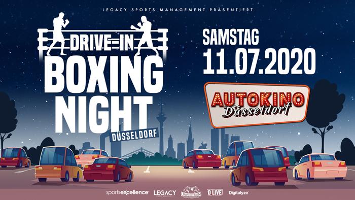 Drive-In Boxing Night im Autokino Düsseldorf verspricht explosive Aufeinandertreffen